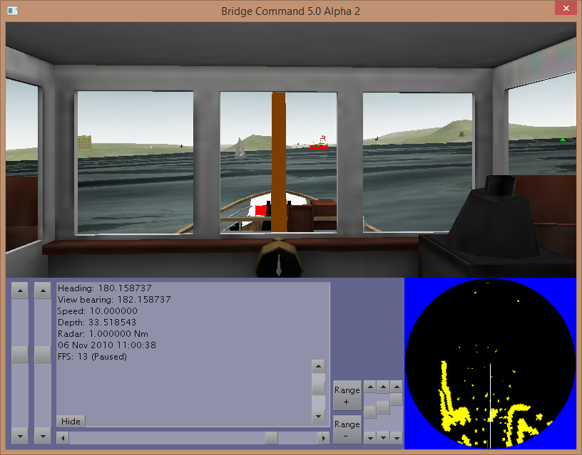 Bridge Command Alpha 2 screenshot